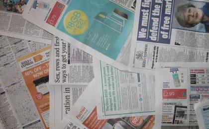 Life Hacks Zeitungen