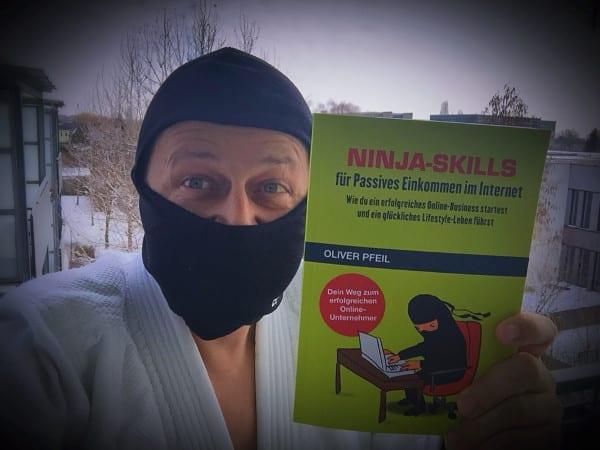 Ninja Skills Buch von Oliver Pfeil