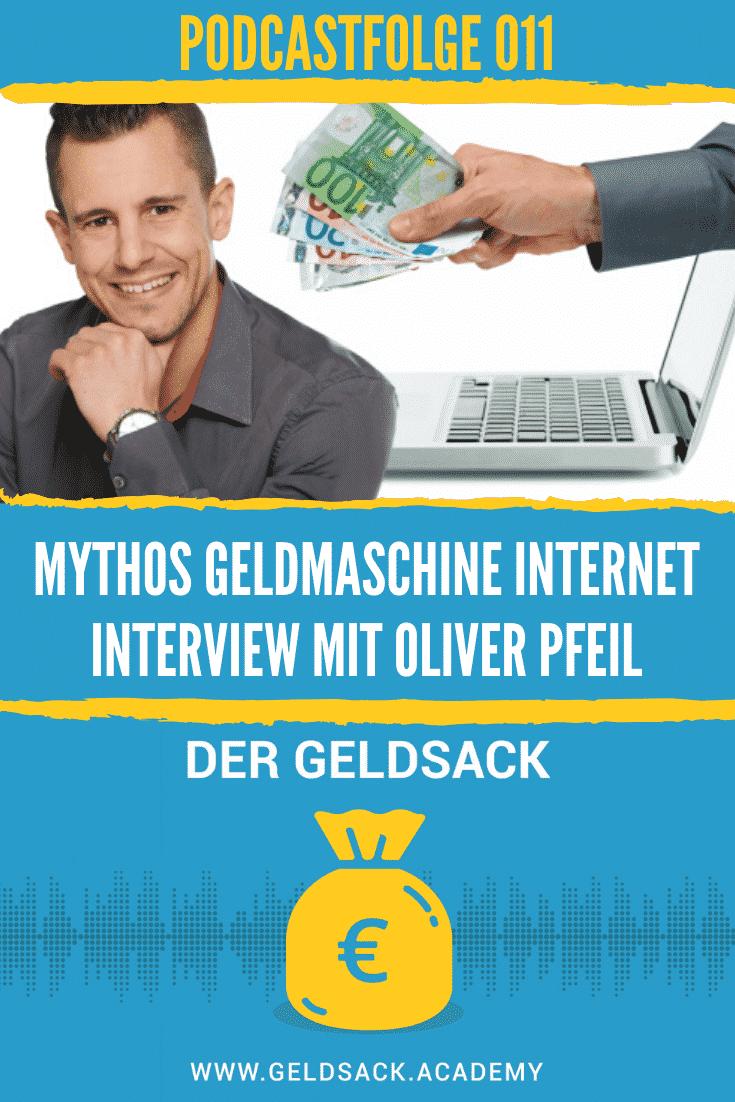 Mythos Geldmaschine Internet - Interview mit Oliver Pfeil