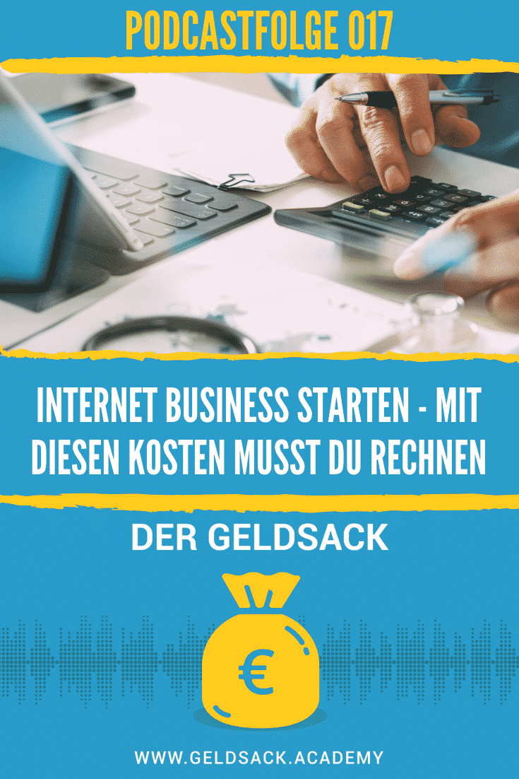 Internet Business starten - Kosten