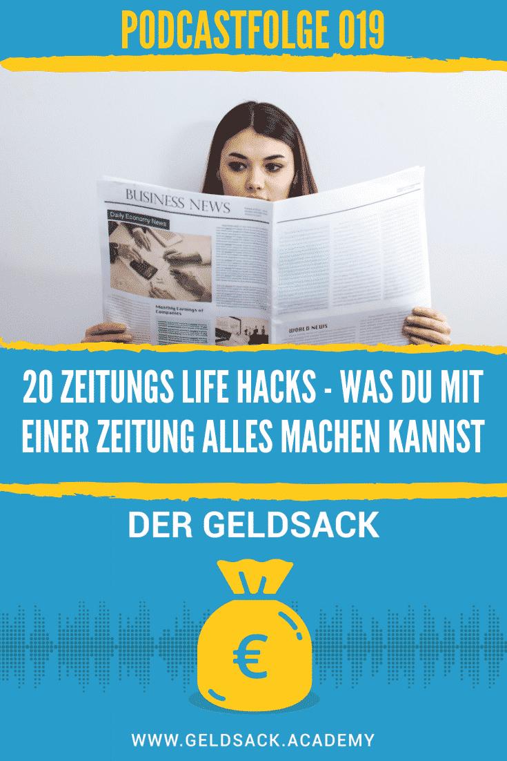 20 Zeitungs Life Hacks