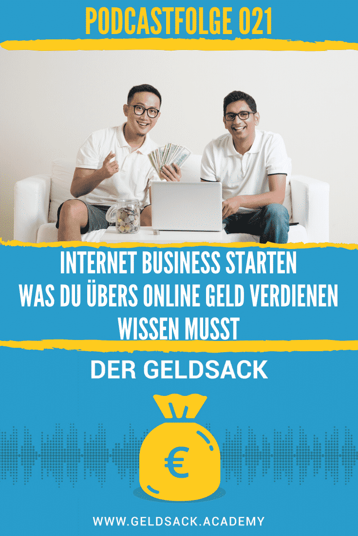 Internet Business starten - online Geld verdienen