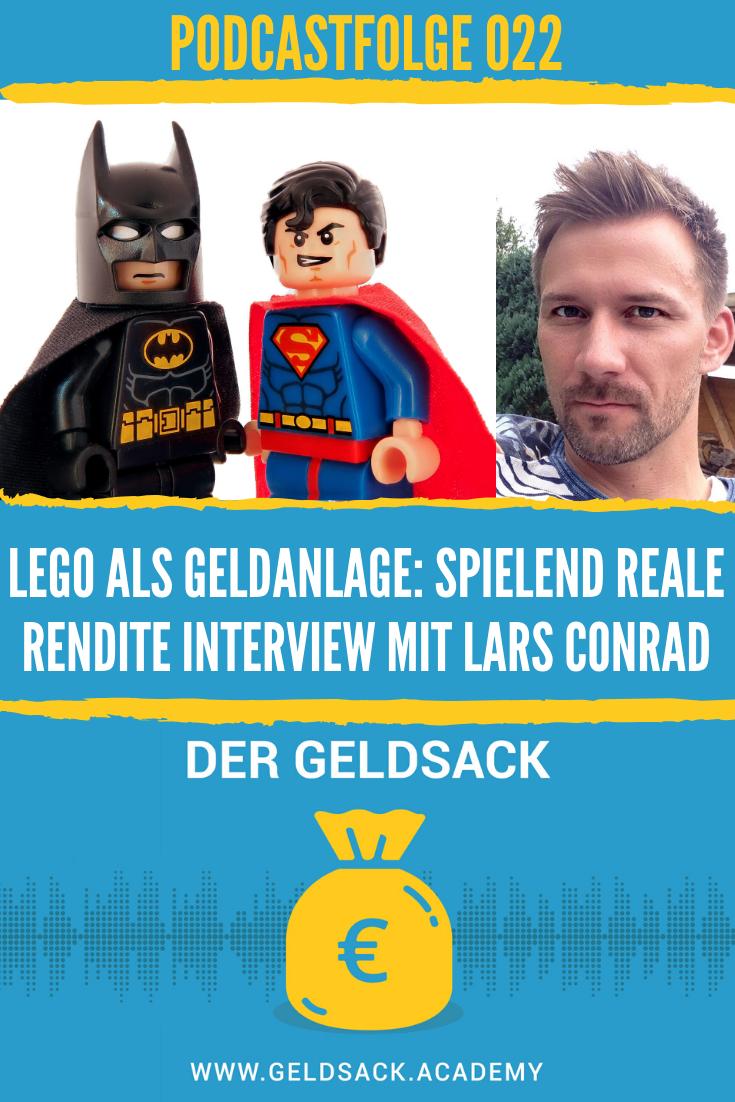 Spielwaren Investor Lars Conrad - Geldanlage Lego